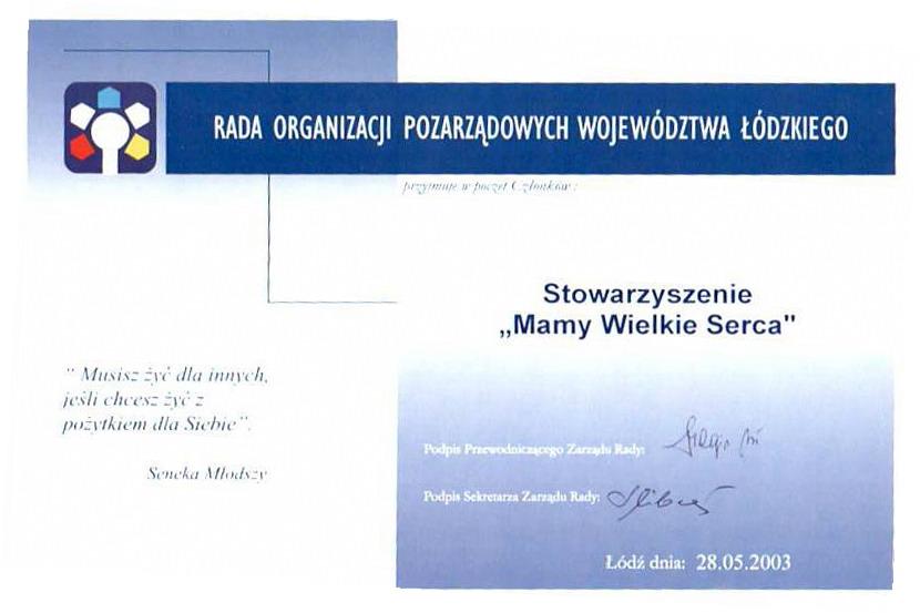 Rada Organizacji Pozarządowych Województwa Łódzkiego